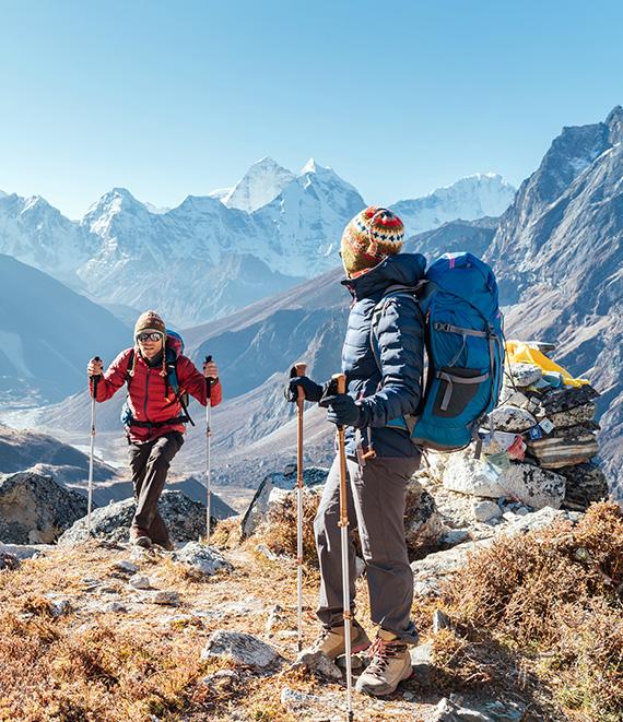 sport et aventure durant un voyage